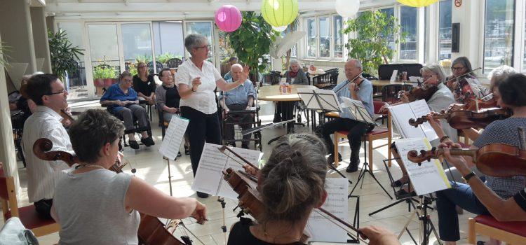 Der Orchesterverein ist wieder am Musizieren!