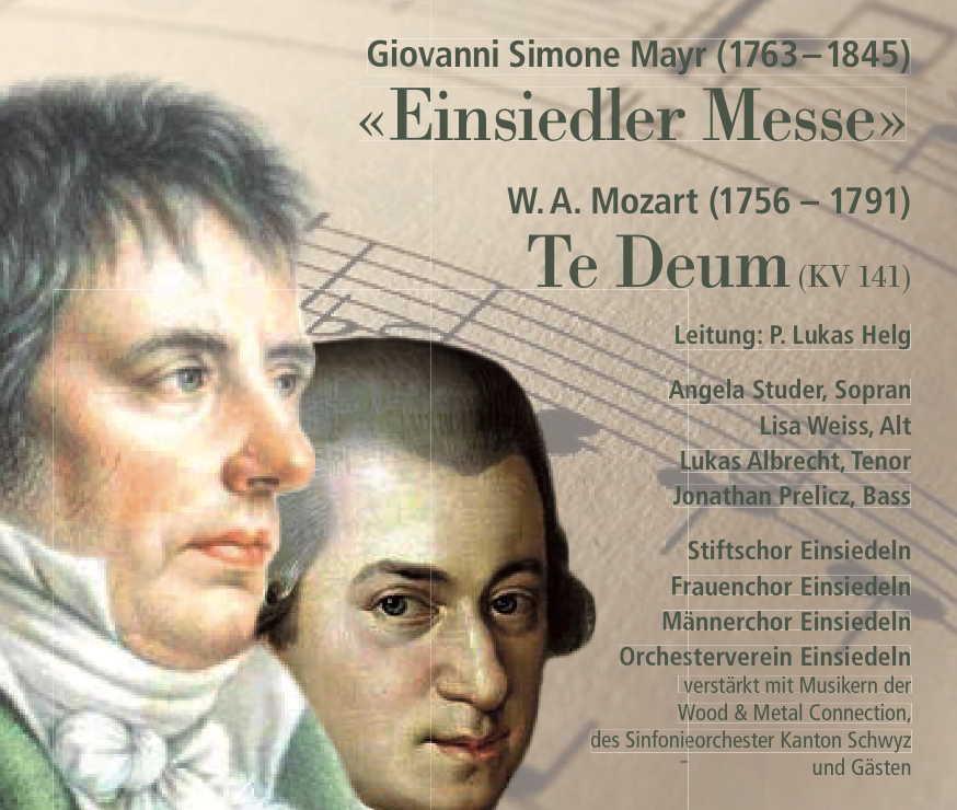 Konzertprogramm Mayr-Messe