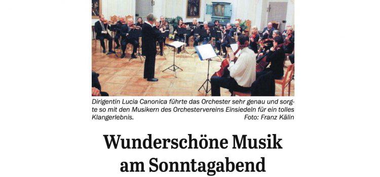 Zeitungsbericht zum Konzert vom 17. Nov. 2019